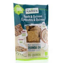 Spelt en quinoa snack
