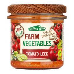 Farm vegetables tomaat & prei