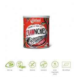 Crawnchies stapelchips spicy paprika raw & bio