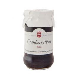 Cranberry port saus