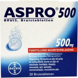 Aspro bruis 500 mg