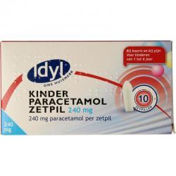 Paracetamol kind 240 mg