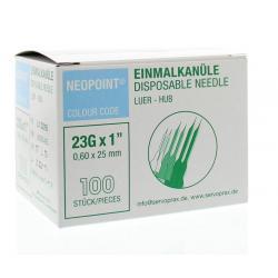 Injectienaald steriel 0.6 x 25