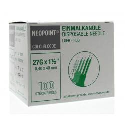 Injectienaald steriel 0.4 x...