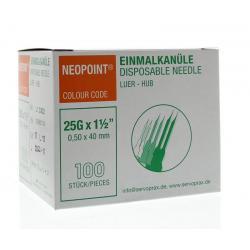 Injectienaald steriel 0.5 x 40