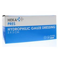 Hydrofiel gaaskompres 5 x 5...