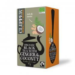 Black tea ginger coconut