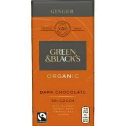 Chocolade puur gember