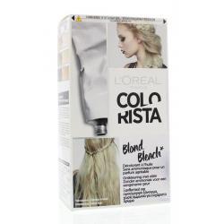 Colorista blond bleach...