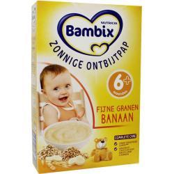 Bambix groeiontbijt fg banaan#