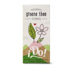 Groene thee fleurig