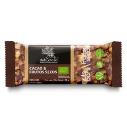 Noten reep met chocolade bio