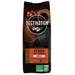 Koffie Peru gemalen