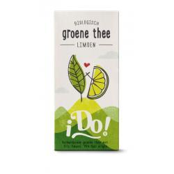 Groene thee limoen