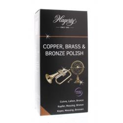 Copper brass bronze polish