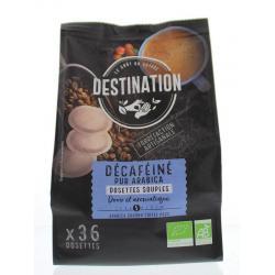 Koffie decaf pads