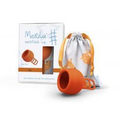 Menstruatie cup fox oranje