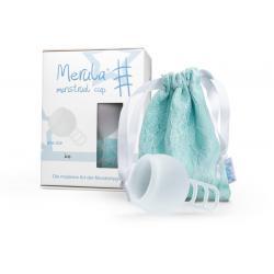 Menstruatie cup ice kleurloos