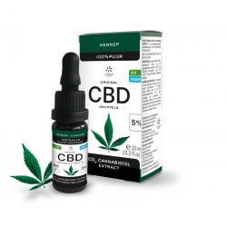 CBD 5% Cannabidiol olie bio...