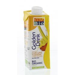 Golden drink turmeric