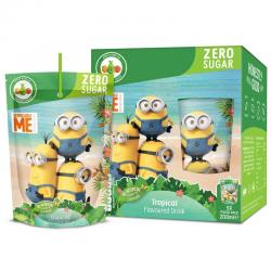 Kids drink minions tropical