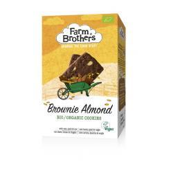 Brownie & almond koekjes...