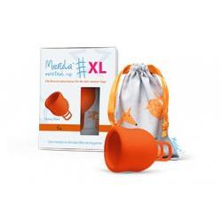 Menstruatie cup XL fox oranje