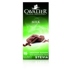 Chocolade milk gezoet met...