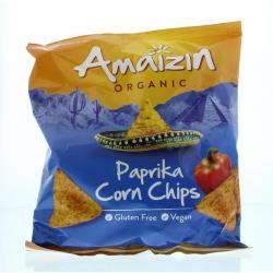 Corn chips bio paprika