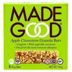 Granola bar apple cinnamon...